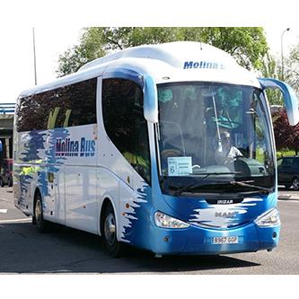 Empresa Autocares Molina Bus, s.l.